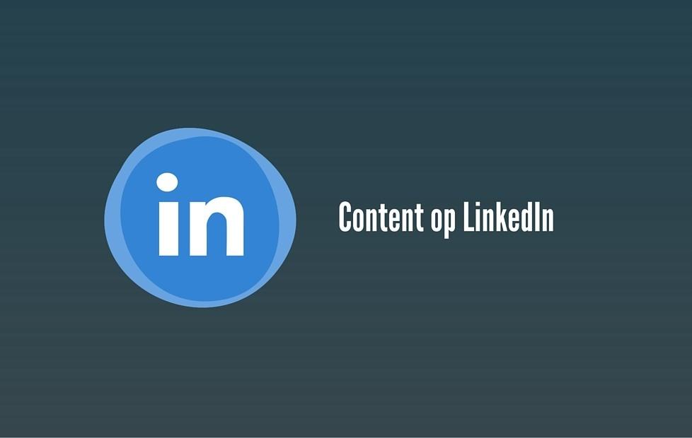 Hoe gebruik je LinkedIn in je Content strategie?