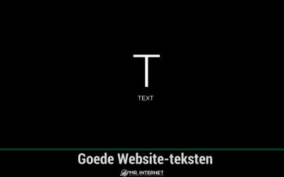 Goede website teksten, hoe doe je dat?