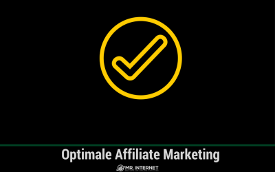 Hoe zorg je voor optimale affiliate marketing?