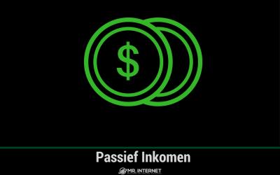 Passief inkomen krijgen door o.a. internet